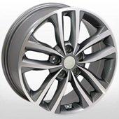 Автомобильный колесный диск R17 5*114,3 KI-846 GP - W7.0 Et45 D67.1