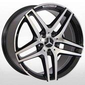 Автомобильный колесный диск R20 5*112 MB-967 BP (Mercedes) - W8.5 Et35 D66.6