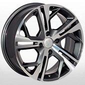 Автомобильный колесный диск R16 4*108 PG-5139 MGRA (Citroen, Peugeot) - W6.5 Et25 D65.1