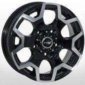 Автомобильный колесный диск R16 5*139,7 ZW-D6049 MB - W5.5 Et22 D108.1