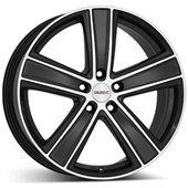 Автомобильный колесный диск R16 5*114,3 TH MattBlack Polished - W7 Et48 D71.6