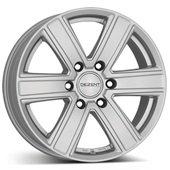 Автомобильный колесный диск R17 6*139,7 TJ Silver - W8 Et20 D106.1