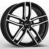 Автомобильный колесный диск R17 5*108 TR Black Polished - W7.5 Et48 D70.1