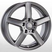 Автомобильный колесный диск R15 4*108 TY Graphite - W6 Et23 D65.1