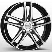 Автомобильный колесный диск R17 5*114,3 TZ Black Polished - W7.5 Et38 D71.6