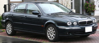 диски на Jaguar X-Type (CF1)